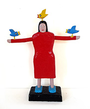 Barry Colpitts Bird Lady