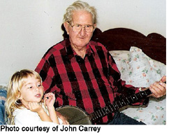 Carl McKenzie and granddaughter