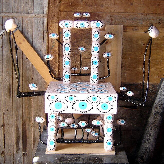 Barry Colpitts Eye Ball Chair